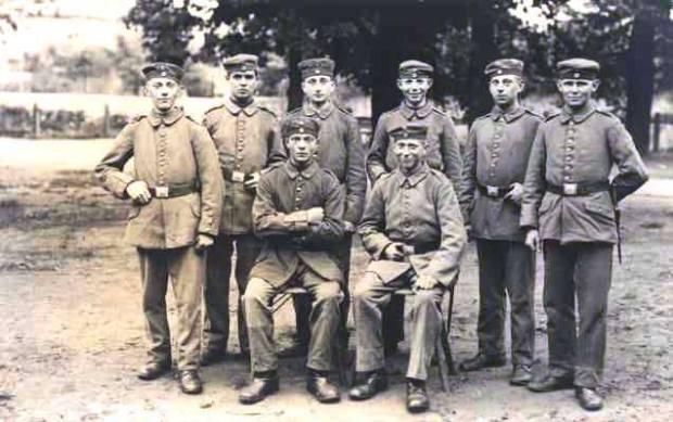 Manfred Gurlitt as a soldier