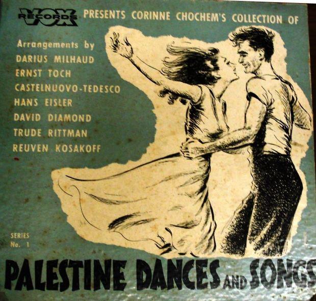 Corinne Chochem record sleeve cover