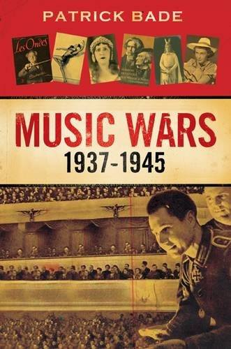 "Patrick Bade's ""Music Wars"" - cover"