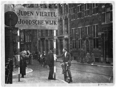 Jewish Ghetto in Holland during the Nazi Occupation
