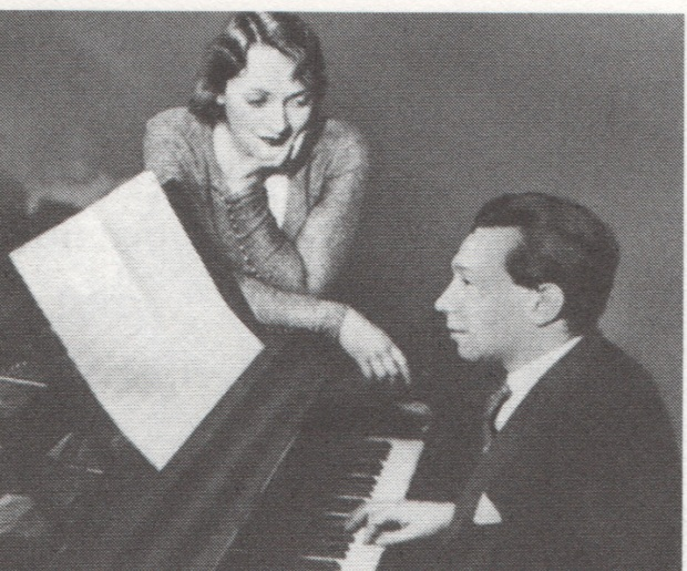 Marlene Dietrich and Friedrich Holländer
