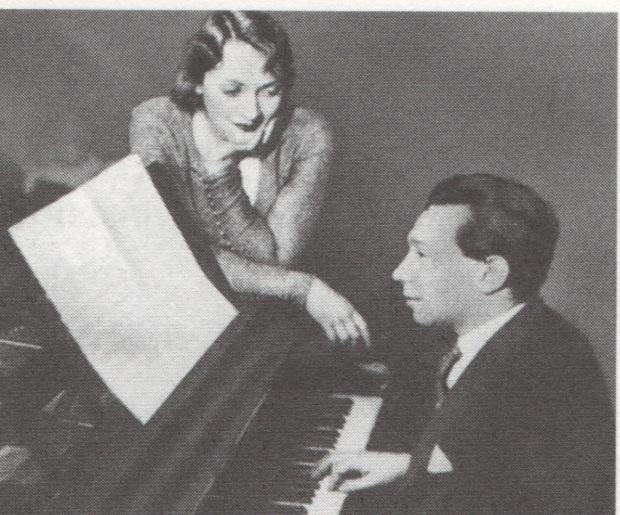 Marlene Dietrich and Friedrich Holländer