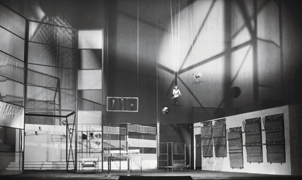 Moholy-Nagy's design for the 1929 production of 'Tales of Hoffmann'