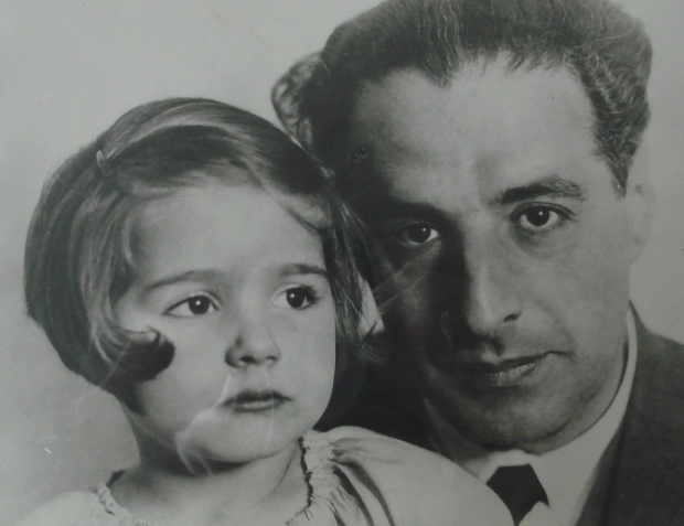 Ernst Toch and daughter