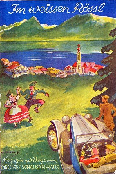 Poster for 'The White Horse Inn'