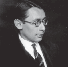 Hans Gál in his early 20s