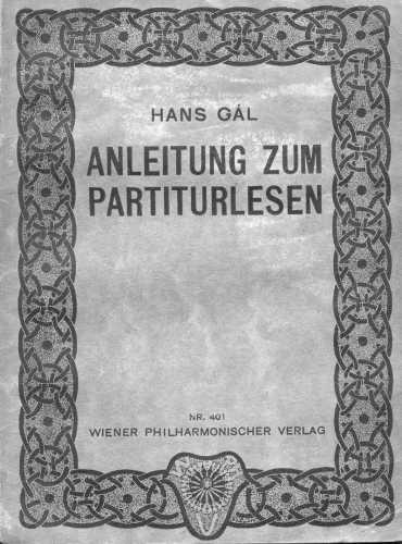 Anleitung zum Partiturlesen - still a standard reference