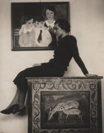 The painter Lisel Salzer