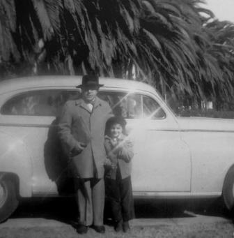Zeisl with daughter Barbara in Los Angeles