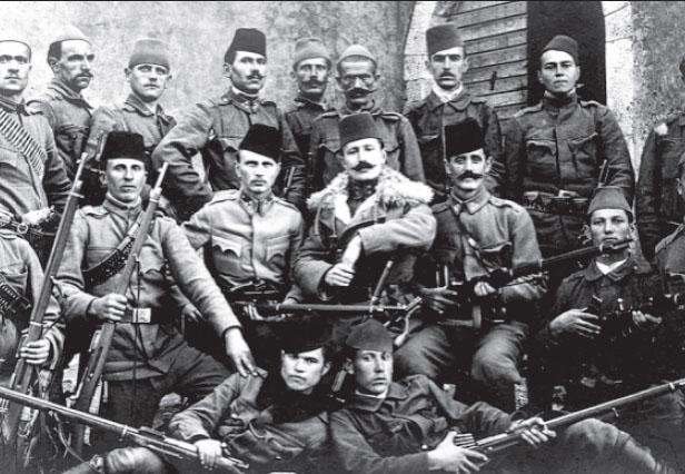 Austria's Bosnian, Muslim soldiers