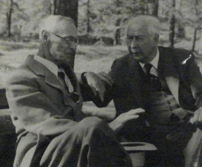 Friends and neighbours of the Tochs: Hermann Hesse and Theodor Heuss