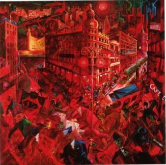 George Grosz: 'Metropolis' 1916
