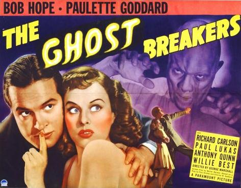 'The Ghost Breakers' poster; Music by Dr. Ernest Toch