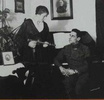 Lili and Ernst Toch during the war years