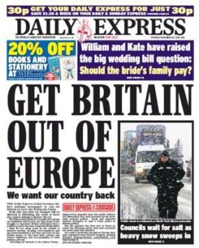 Anti-EU media in the UK