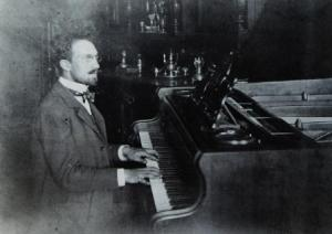 Franz Schreker as a young composer