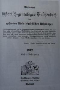 The Semigotha, an index of aristocratic families that have inter-married with Jews