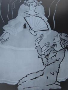 Pubicity poster for 'Geburtstag der Infantin'