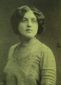 Maria Binder in 1908