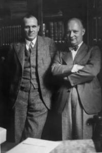 Georg Schünemann and Paul Hindemith