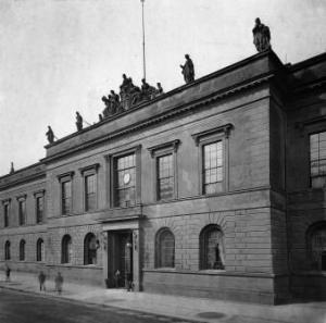 The Prussian Academy of Arts where Schreker and Schoenberg both taugh masterclasses from 1932