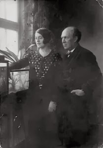 Franz and Maria Schreker in 1931, the year before his departure from the Music Academy and arrival at the Prussian Academy of Arts