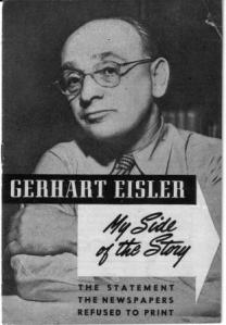 Gerhart Eisler answers Ruth Fischer's charges