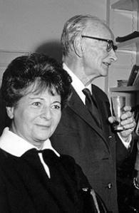 Lou Eisler with Ernst Fischer