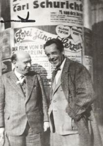 Karl Rankl and Hanns Eisler in Berlin