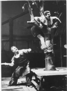 Smee beating the Devil in the 1932 premiere at Berlin's State Opera