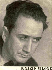 Ignazio Silone, 1900 – 1978 author and Communist renegade whose writings were blacklisted throughout the Soviet bloc.