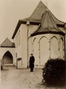 Gernsbach Synagogue designed by Fuchs, burned down during the pogrom nights of November 1938