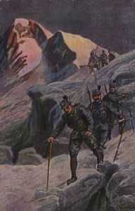 Austrian troops on the Isonzo Front