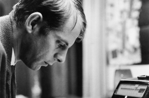 The young Karl-Heinz Stockhausen in Darmstadt