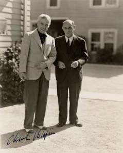 Schoenberg and Charlie Chaplin (Arnold Schoenberg Center, Vienna (ASCV))