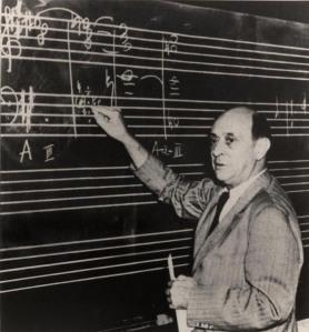 Schoenberg at UCLA, 1939 (ASCV)