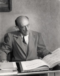 Schoenberg at home in Brentwood