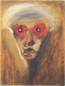 Self Portrait: Arnold Schoenberg