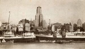 The Port of Buenos Aires in the 1930s