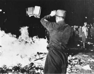 Nazi book burning, Berlin 1933