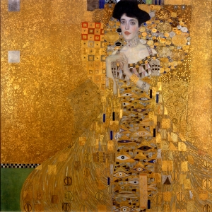 Klimt's 'Goldene Adele' the portrait of Adele Bloch-Bauer