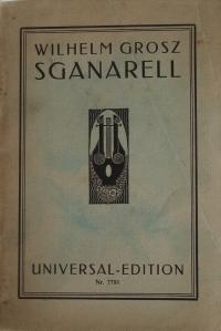 Sganarell 1 libretto cover front
