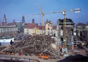 Rebuilding Dresden's 'Frauenkirche'