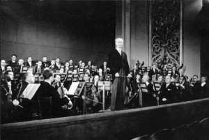 The Vienna Philharmonic and Wilhelm Furtwängler in 1950