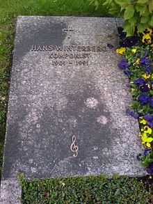 The grave of Hans Winterberg in Bad Tölz