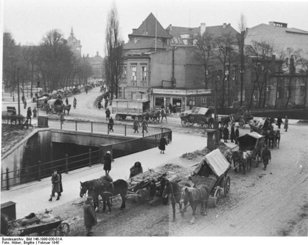 Danzig is cleared of its entire German population following occupation by Soviet forces in 1945