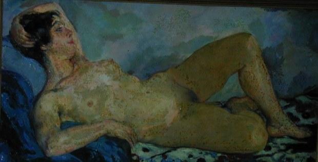Emil Orlik Portrait of Hilde Holgar