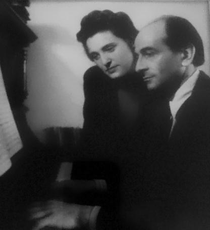 Heidi Ehrengut and Hans Winterberg