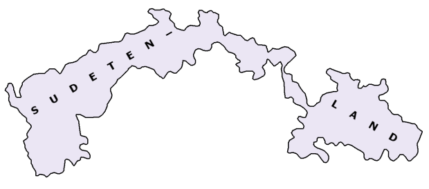 The Province of 'Sudetenland' 1918