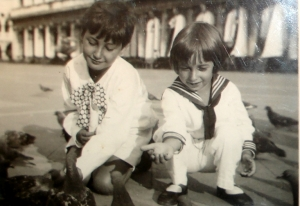 Korngold's sons Ernst and Georg on Holiday in Venice